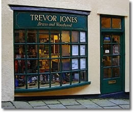Welcome to Trevor Jones Trumpets